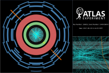 A search for new heavy particles with ATLAS